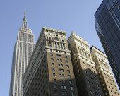 Empire State And Other Buildings New York