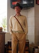 Wax Indiana Jones At Madame Tussauds