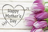 Happy Mothers Day Greeting poster