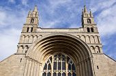 Front Entrance To Tewkesbury Abbey