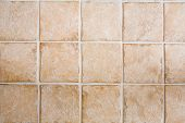 picture of ceramic tile  - Ceramic tile floor or wall texture image - JPG
