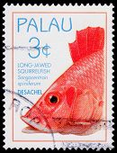 A 3-cent Stamp Printed In Palau
