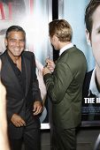 BEVERLY HILLS, CA - SEP 27: George Clooney; Ryan Gosling at the premiere of Columbia Pictures' 'The Ides Of March' on September 27, 2011 in Beverly Hills, California.