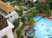 Mini Golf & Pool - Aerialview