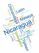 Nicaragua Map And Cities