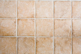 stock photo of ceramic tile  - Ceramic tile floor or wall texture image - JPG