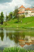 Svirzh Castle. Ukraine.