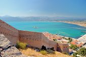 Nafplio , The Palamidi castle