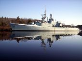 Warship Reflection