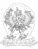 pic of tantric  - Kalachakra is also known as Wheel of Time - JPG