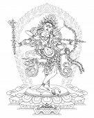 Divinidad budista Kurukulla