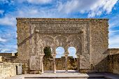 Palace Of Medina Azahara, Arab City Founded In The Year 936 By Abderraman Iii About 8 Km From Cordob poster