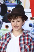 ANAHEIM - JUN 13:  Nolan Gould arrives at the