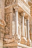 Column In Church Of Saint Trophime, Arles