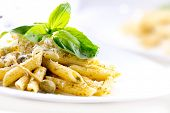 picture of pesto sauce  - Pasta - JPG