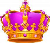 Hermosa corona de magia