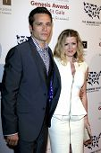 LOS ANGELES - 23 de MAR: Seamus Dever, Juliana Dever chega na 2013 Gênesis Gala benefício um