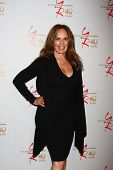LOS ANGELES - MAR 26:  Catherine Bach attends the 40th Anniversary of the Young and the Restless Cel