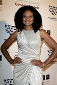 LOS ANGELES - MAR 23:  Kimberly Elise arrives at the 2013 Genesis Awards Benefit Gala at the Beverly Hilton Hotel on March 23, 2013 in Beverly Hills, CA