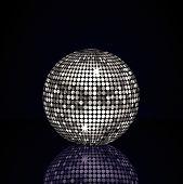Reflected Silver Disco