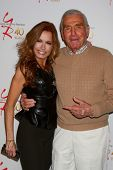 LOS ANGELES - MAR 26:  Tracey E. Bregman, Jerry Douglas attends the 40th Anniversary of the Young an