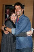 LOS ANGELES - FEB 27:  Jill Farren Phelps, Ignacio Serricchio at the Hot New Faces of the Young and