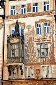 prague, old town square, with wenzel storch house