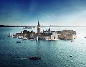 vista de la isla de San Giorgio, Venecia, Italia