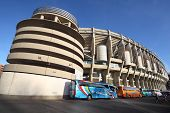 MADRID - MARCH 8: Santiago Bernabeu stadium on March 8, 2012 in Madrid, Spain. Stadium was built in