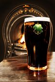 stock photo of guinness  - Saint Patrick celebration  - JPG
