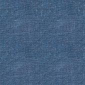 Blue linen seamless texture