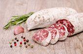 Italienische Luft getrocknete Salami Wurst