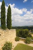 Landscape In The Region Of Luberon, France