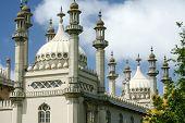 Exótico Palácio arquitetura real pavilhão Brighton