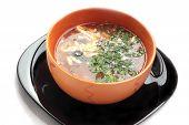 Soup Plus Sour Cream.
