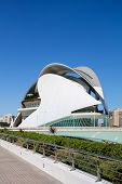 City Of Arts And Science In Valencia, Spain