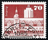 Postage Stamp Gdr 1973 Old Town Hall, Leipzig