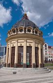 The Rotunda At The End Of Petersburg Street, Symbolizing The Kazan Cathedral. Kazan. Russia