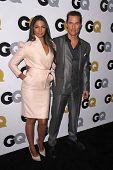 LOS ANGELES - NOV 12:  Camila Alves McConaughey, Matthew McConaughey at the GQ 2013