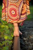 Barefoot balancing