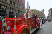 Vintage fire engine from FDNY
