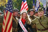 Doughboys post with Ms. Veteran America