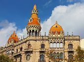 Cases Pons In Barcelona, Spain. Was Built In 1890-1891 By Catalan Architect Enric Sagnier