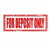 For Deposit Only-stamp