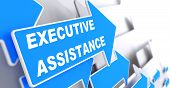 Executive Assistance on Blue Arrow.