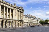 Place De La Concorde Is One Of Major Public Squares In Paris, France. Measuring 8.64 Hectares, It Is