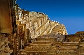 pic of khajuraho  - Top of Vishvanatha Temple - JPG