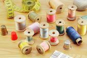 Spools Of Various Threads