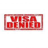 Visa Denied-stamp
