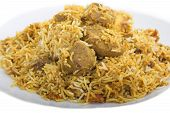 Lamb Biryani the spicy rice